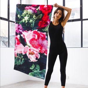 Florals Design- gym and beach towel